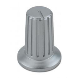Bouton rotatif gris V1 - SILVER-5/XS4