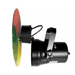 Disque couleur pour projecteur boule a facettes