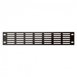 19 inch Ventilationpanel Black