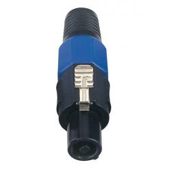 Fiche 4p. Speaker Connector Male NEUTRIK