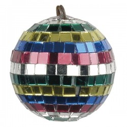 Multicoloured Mirrorball 5 cm