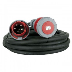 Extension Cable, 3 x 63A 380V