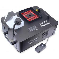 S2000 Machine à fumée et effet DMX 24 LEDs RGB 3 W