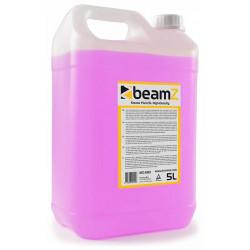 BeamZ Liquide pour machine à fumée- 5 l- Haute densité- rose
