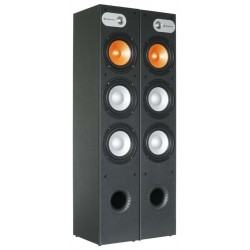 SHFT650B Set enceintes Tower 3x 6-5PNoires