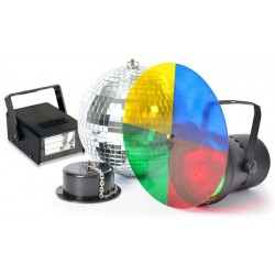 Disco Party Set avec stroboscope