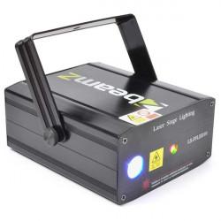 LS-FFLED10 Laser rouge vert avec LED et gobo