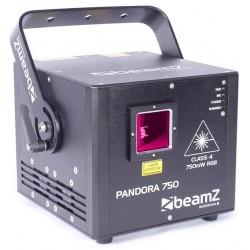 Pandora 750 30kpps TTL laser RGB