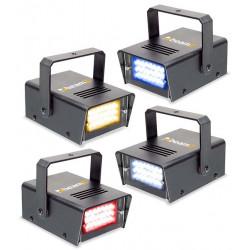 Set de 4 mini stroboscopesa LEDs RGBW