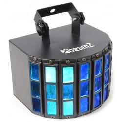 Butterfly Projecteur 3x LEDs 3 W RGB 24 faisceaux