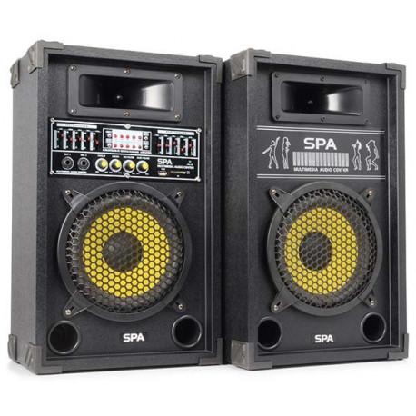 SPA800Y PA Set d'enceintes actives 8P SD-USB-MP3
