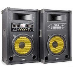 SPA1000Y PA et d'enceintes actives 10P SD-USB-MP3