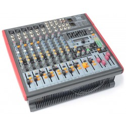 PDM-S1203A Table de mixage amplifiee 12 canaux DSP-MP3 USB IN-OUT