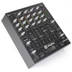 STM-7010 Mixer Table de mixage DJ 4 canaux USB