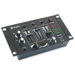 STM-2211B Table de mixage 4 canauxNoir