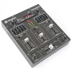 STM2270 Table de mixage 4 canaux Effets Sound SD-USB-MP3-BT