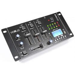 STM3030 Table de mixage 4 canaux USB-MP3-BT-REC