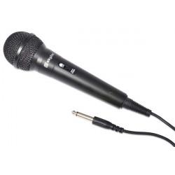 Microphone 600 OhmsJack 6-35Noir