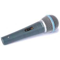 Microphone professionnel metallique 600 ohms XLR
