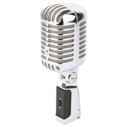 PDS-M02 Microphone Retro Style Chrome