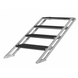 PLT-st60100 - Escalier réglable de 0,6 m à 1 m 4 marches