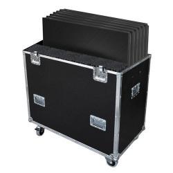FLY6PLTL1 - Flight-case pour 6 PLTL-1x1 avec pieds