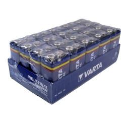 PILE-VI-6LR61- Pile VARTA INDUSTRIAL 9V en boîte de 20
